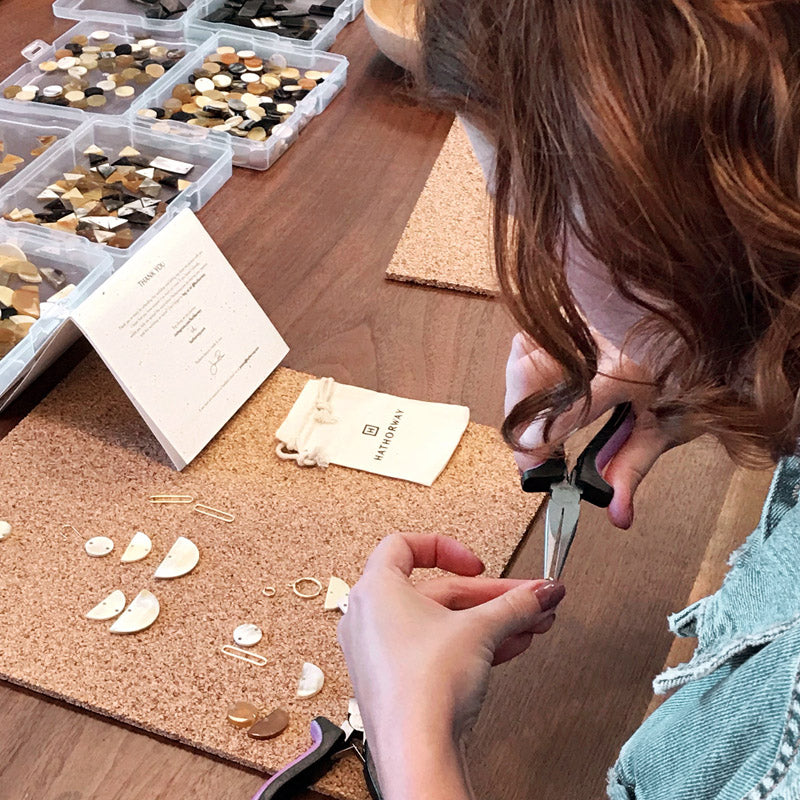 Favorite sustainable jewelry making class