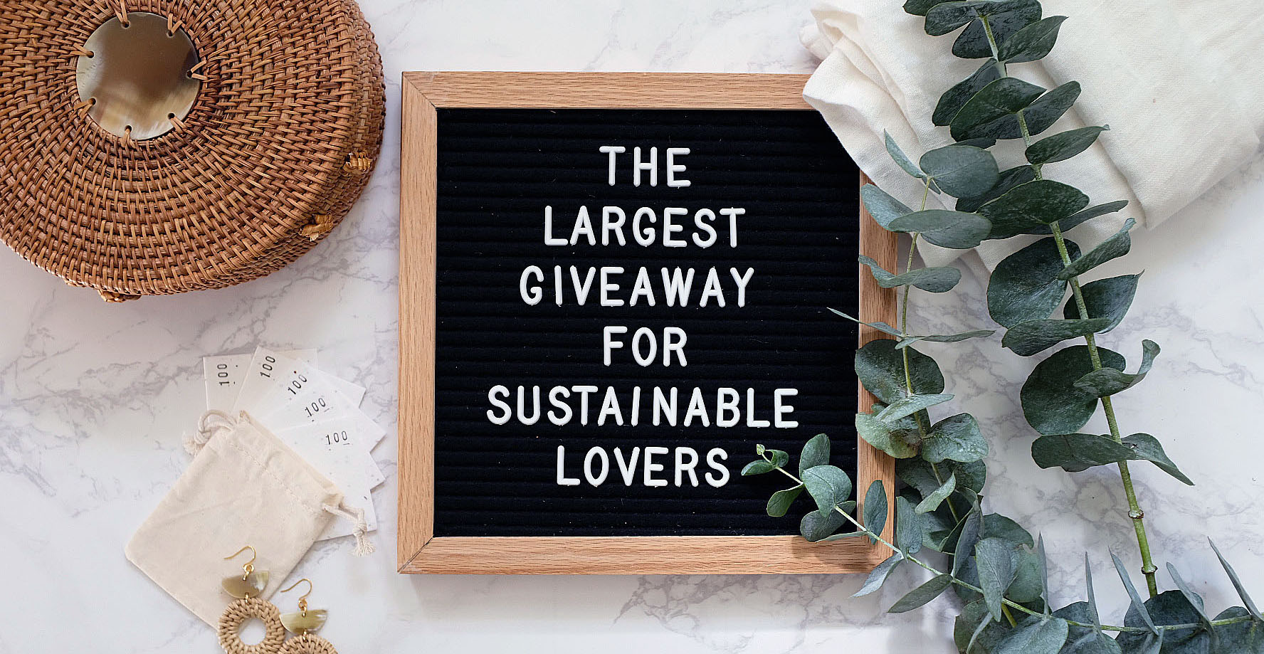 the largest sustainable giveaway