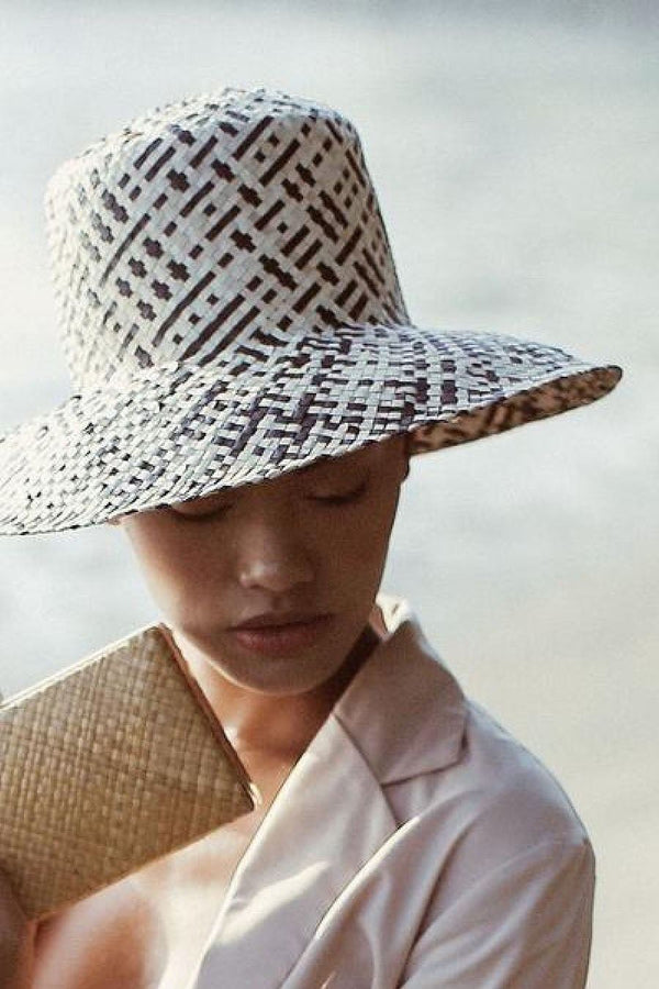 Borneo Fisherman Bucket Straw Hat
