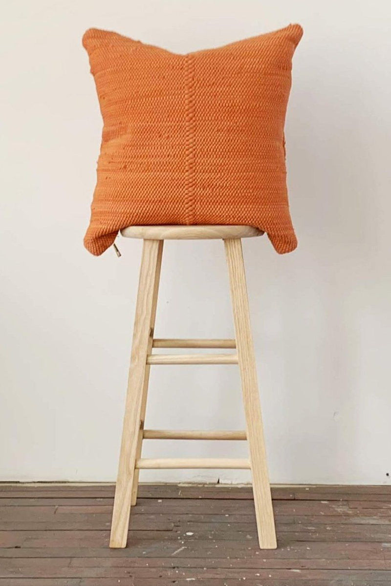 Chindi Handwoven Cotton Pillow - Pottery