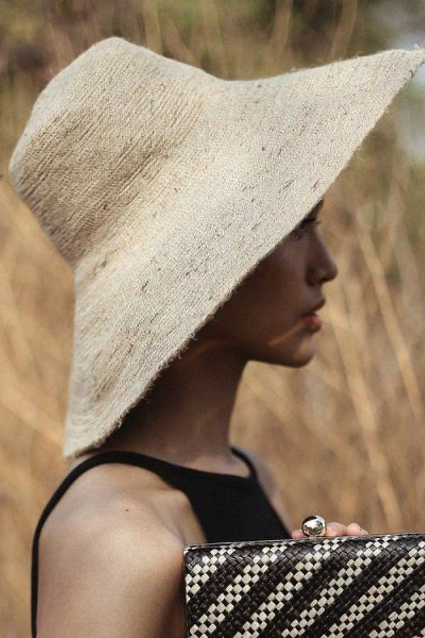 Riri Handwoven Natural Jute Sun Hat