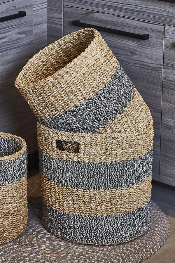 Savar Handwoven Jute Hamper (Set of 3)