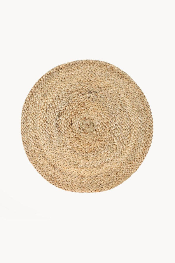 Kata Handwoven Natural Jute Placemat (Set of 4)