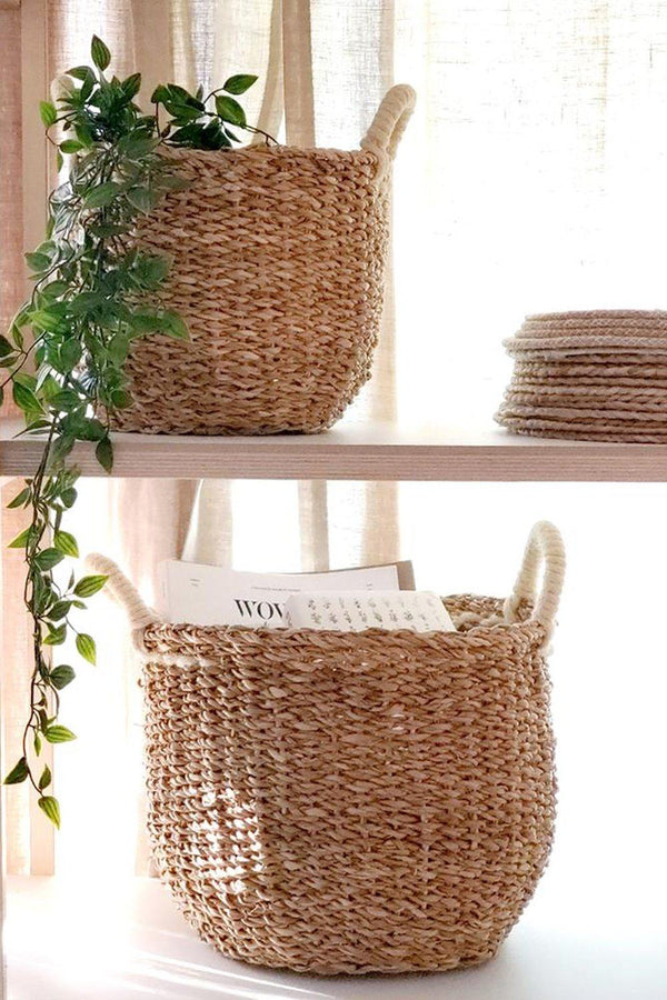 Savar Handwoven Jute Basket (Set of 2)