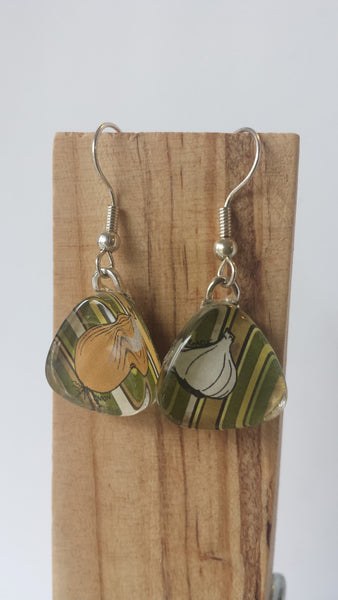 Masala Earrings - Onion and Garlic