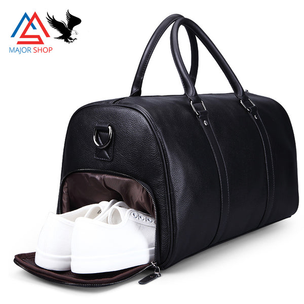 Extra Large duffel Bag genuine leather travel bag