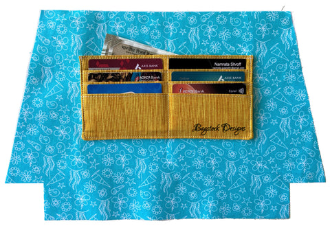 Adding credit card slots to the sunshine crossbody pouch