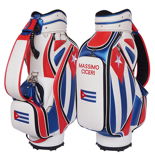 Cuban Flag Golf Bag - My Custom Golf Bag Global