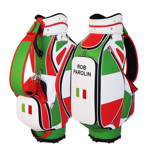 Italian Flag Golf Bag - My Custom Golf Bag Global