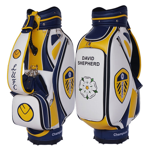 Leeds United Custom Golf Tour Bag - My Custom Golf Bag Global