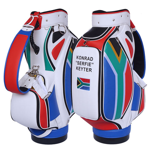 South African Flag Golf Bag - My Custom Golf Bag Global