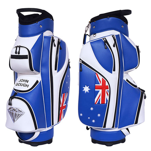 Australian Flag Cart Bag - My Custom Golf Bag Global