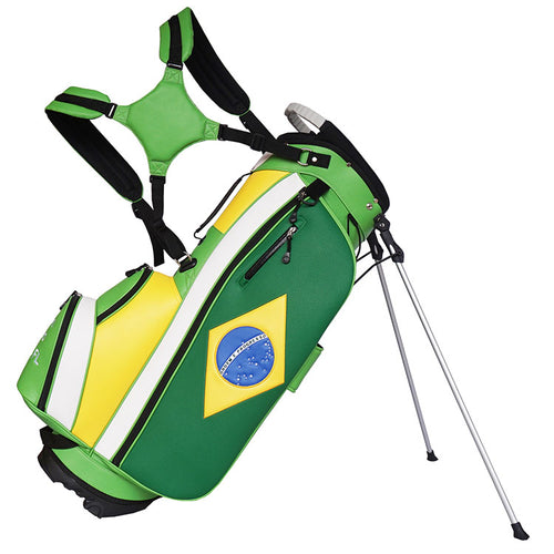 Brazilian Flag Golf Bag