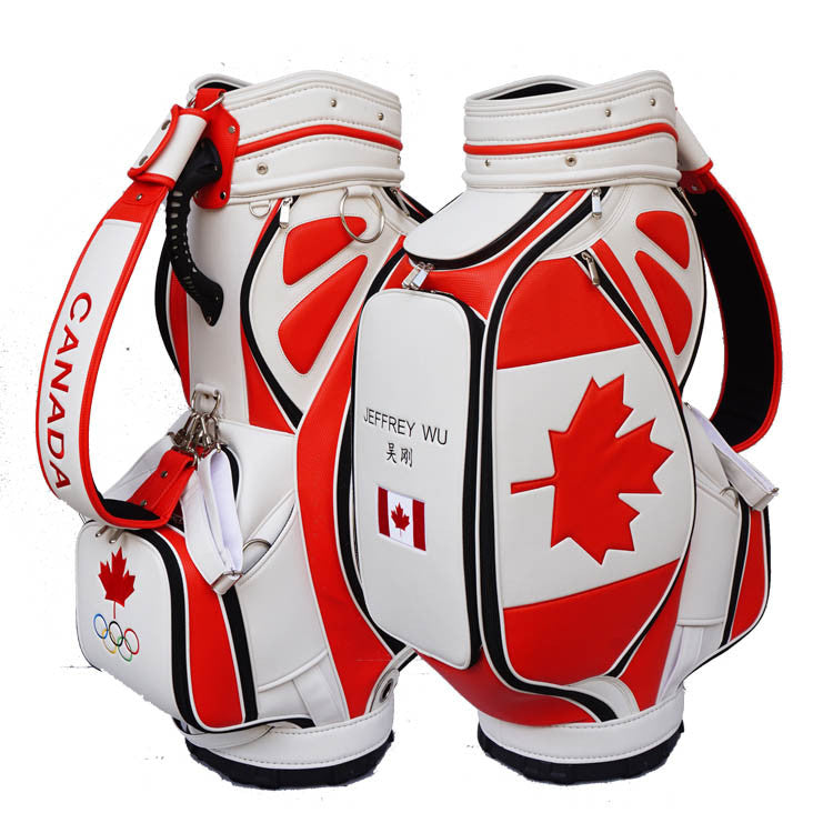Canada Flag Golf Bag