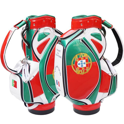 Portugal Flag Golf Bag - My Custom Golf Bag Global