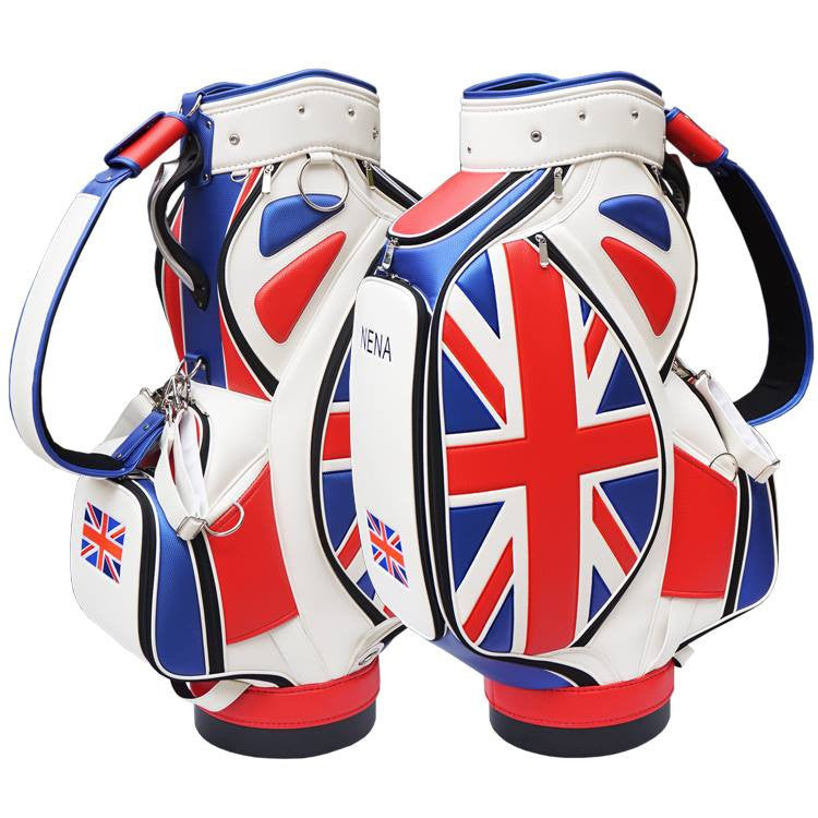 UK Flag Golf Bag
