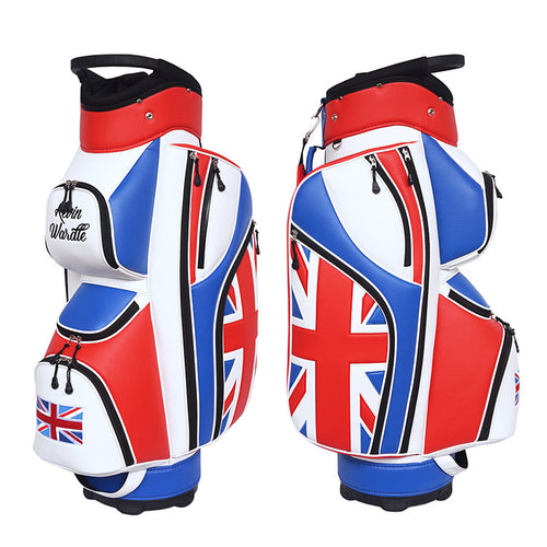 UK Flag Golf Bag - My Custom Golf Bag Global