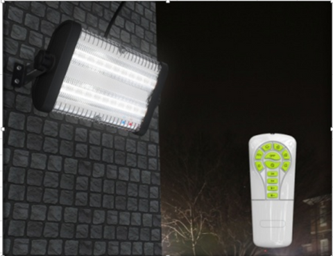 5000Lm Solar Flood Light