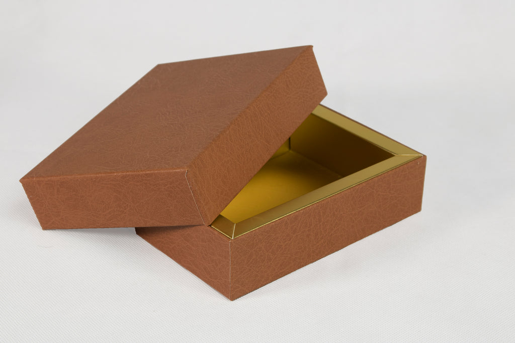 Brown Leather Boxes