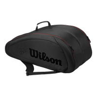 Wilson Federer Team 12 Pack Black