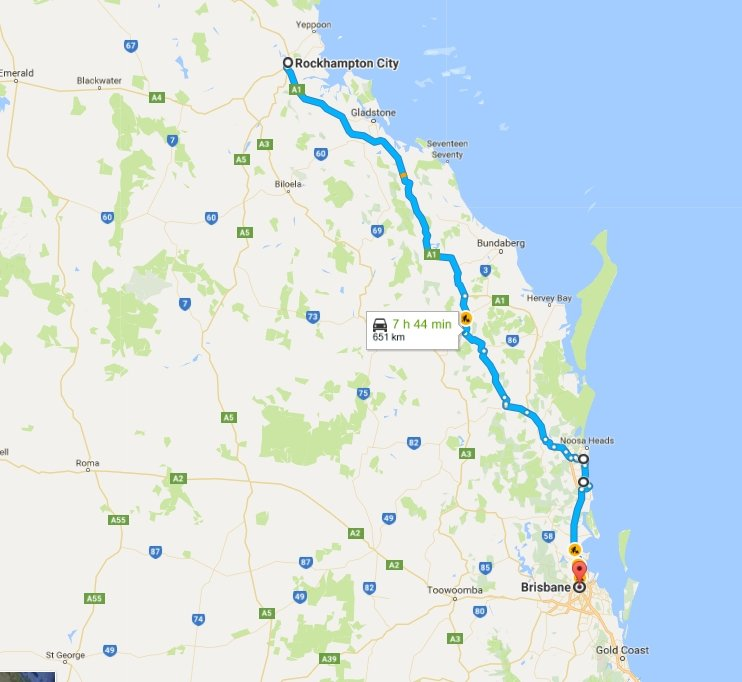 Day 36: Rockhampton to Brisbane | Flying Solo Gear Company