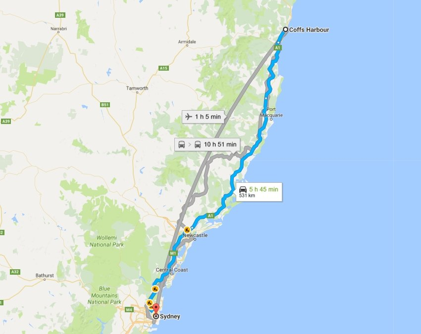 Day 39: Coffs Harbour to Sydney | Flying Solo Gear Company