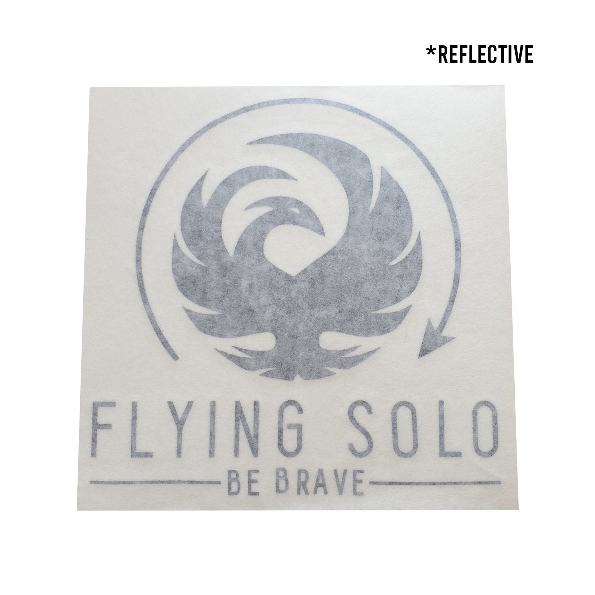 Flying Solo Original Waterproof Die-Cut Decal - Flying Solo Gear Company