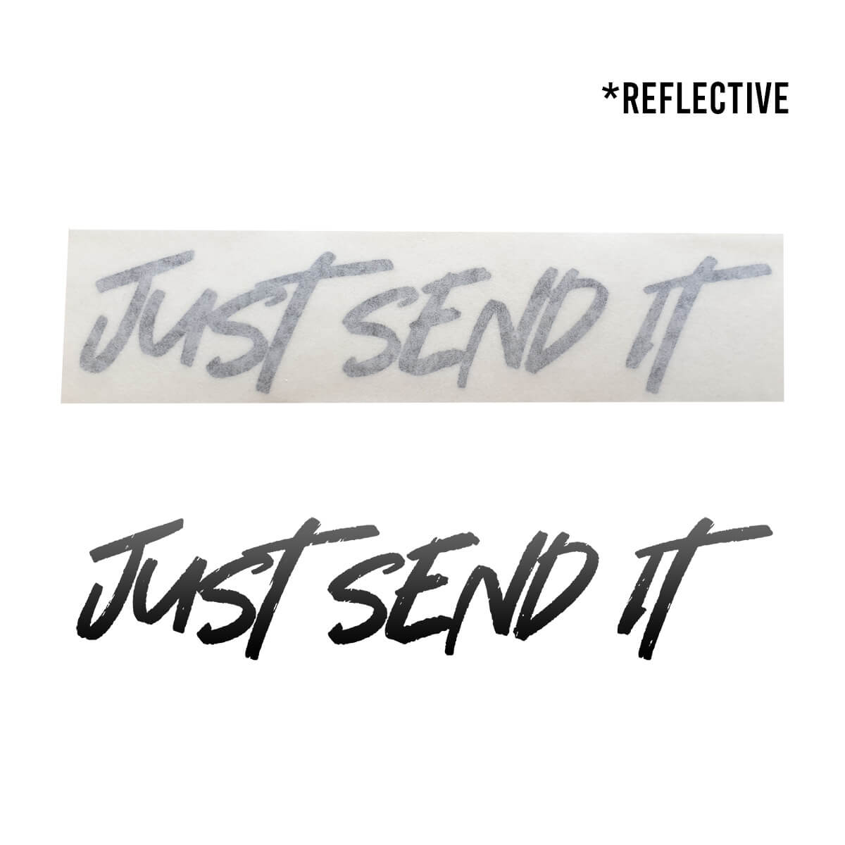 JUST SEND IT 👏 Waterproof Die-Cut Decal - Flying Solo Gear Company