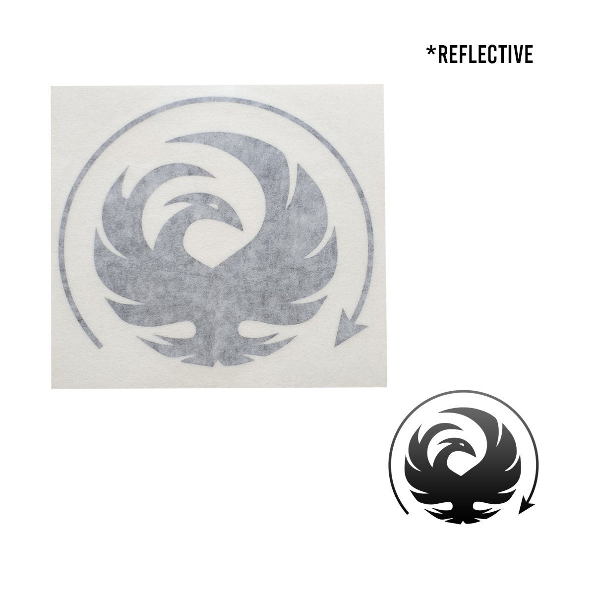 Phoenix Waterproof Die-Cut Decal - Flying Solo Gear Company