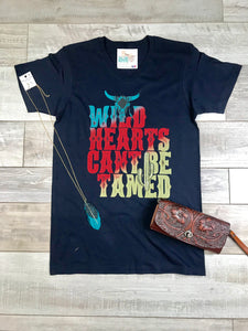 """Wild Hearts Can't Be Tamed"" Tee"