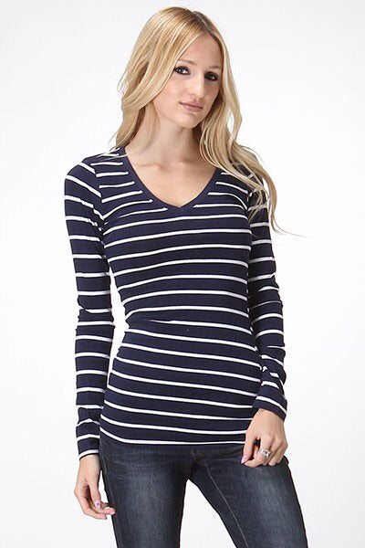 Basic Stripe top