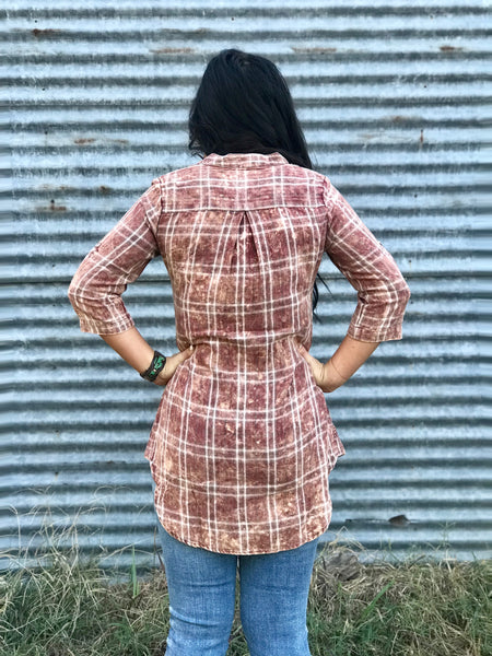 Red Patsy Tunic