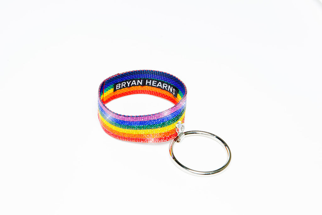 PRIDE Crystal Ring Choker