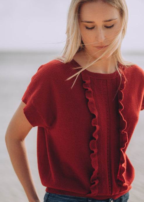 CARLOTTA | Our frill top