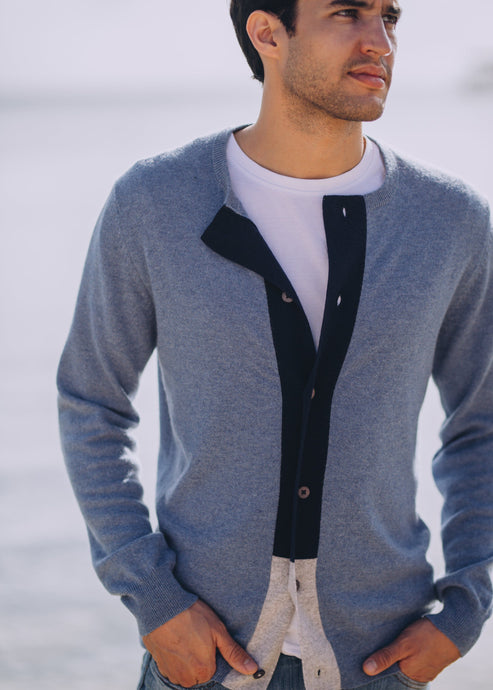 EMILIO | Our tricolor cardigan
