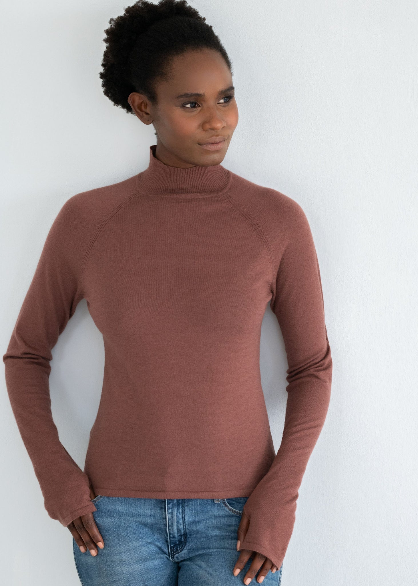 JASMINE | Our comfort high-neck