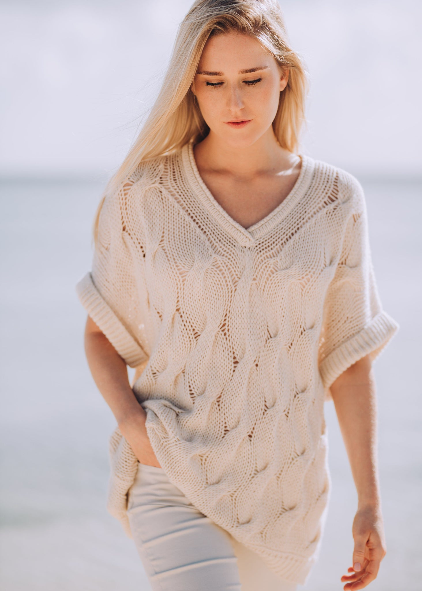 HELENE | Our cashmere cotton cable