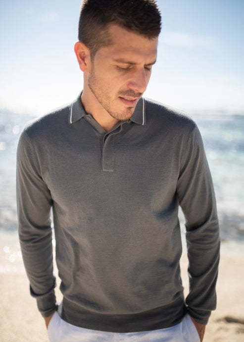 DRAKE | Our light-weight silk blend polo