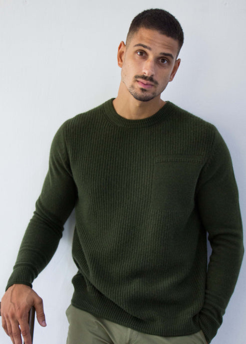 JACOB | Our luxury utility sweater
