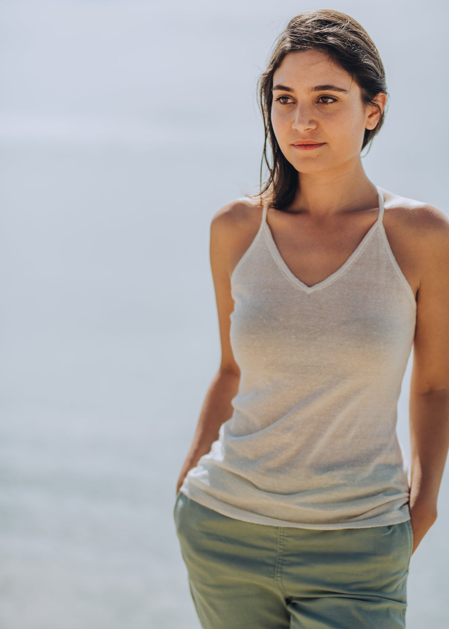 SARA | Our linen mix camisole