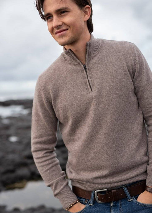 THEO | Our half-zip cashmere