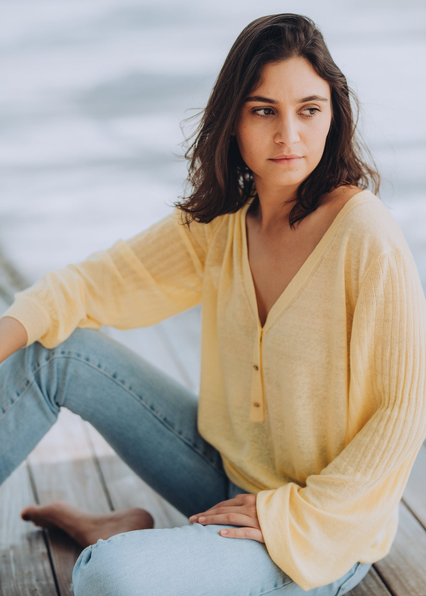 EVELYN | Our linen tunic