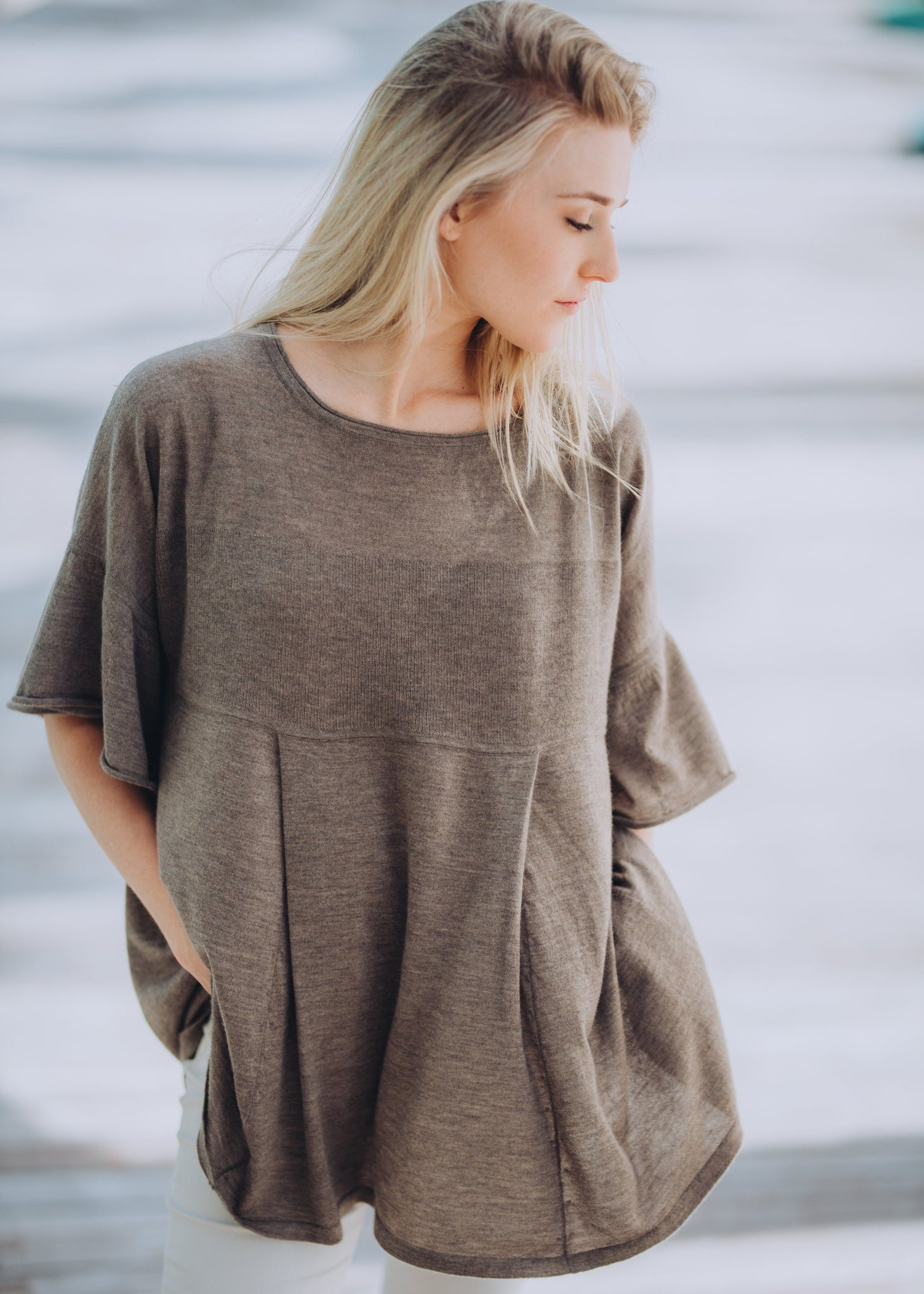 ALINA | Our fine knit A-line tunic
