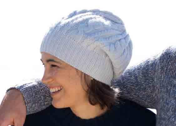 CELESTE | Our cable-knit beanie