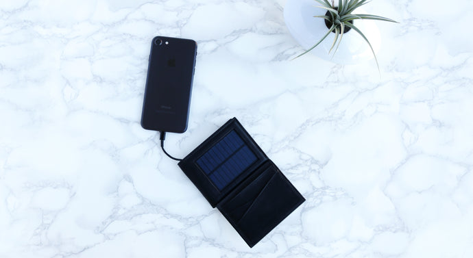 Solar Wallet with Tracking