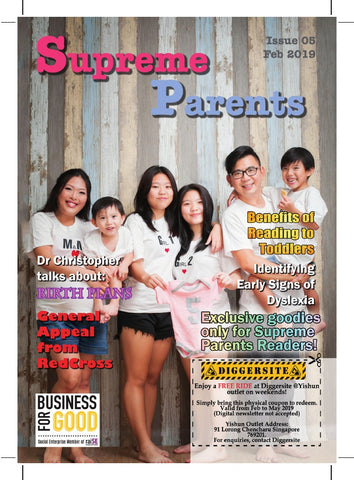 5th Issue 2019 Supreme Parents Newsletter