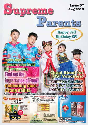 7th Issue 2019 Supreme Parents Newsletter