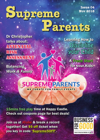 4th Issue 2018 Supreme Parents Newsletter