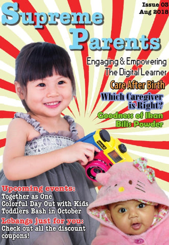 3rd issue 2018 Supreme Parents Newsletter