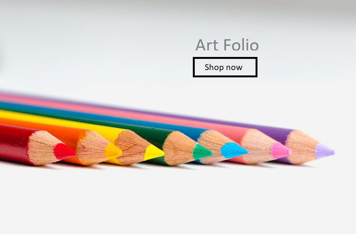 Crayon Art Folio